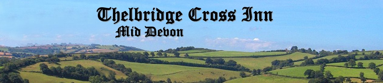 Traditional Devon Country Inn, Hotel & Restaurant at Thelbridge Cross Inn, nr Crediton, mid-Devon